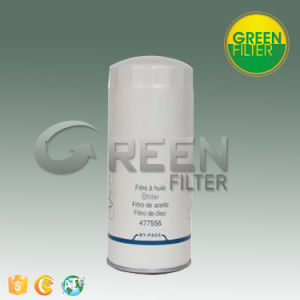 Oil Filter with Truck Spare Parts (477556) 4775565 Lf3654 Wp11102 B7409 92660 85660 P550425 Lf3654 Lfr83654 P9407 Lf416 L375 LFP8642 Wp11102  1660 Wgl365