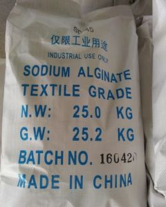 Best Selling The Lowest Price Alginic Acid Sodium Salt pictures & photos