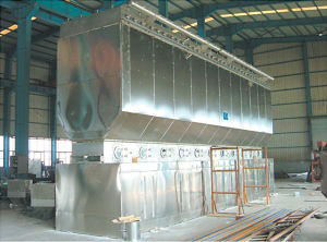 Horizontal Fluidizing Drying Machine for Animal Feed