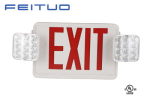 Emergency Light, UL Combo, Exit Sign, LED Sign, Emergency Exit Sign pictures & photos