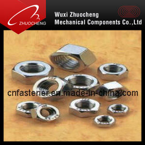 DIN934 DIN6915 DIN6916 DIN555 Ss316 Ss304 Hex Nuts pictures & photos
