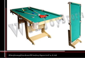 Wj-P-027 5ft Snooker with Folding Legs