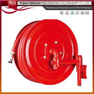 Water System Used Steel Cabinet and Swing Type Fire Hose Reel