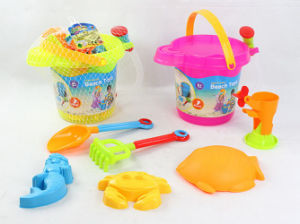 Summer Toy Kids Sand Beach Bucket with Sand Mould (H8291019) pictures & photos