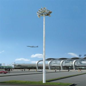 Outdoor Supplier Polygonal Galvanized Q235 Steel High Mast Lighting Tower pictures & photos