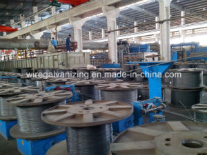 Electro Galvanizing Gi Wire Making Production Line pictures & photos
