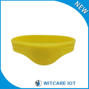 Factory Direct Sale Waterproof 13.56MHz Silicon RFID Wristband