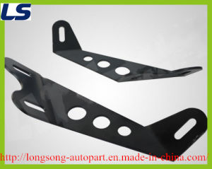 "10"" 20"" Light Bar Hood Mount Bracket Kit for Jeep Wrangler 2007-2013"