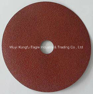 5′′ Abrasives Aluminium Oxide Fibre Disc for Metal pictures & photos