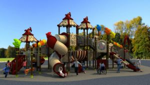 Magic House Series Children Slide Outdoor Playground Amusement Equipment pictures & photos