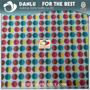 300d DOT Printed PVC Coated Oxford Fabric for Bags and Cushion pictures & photos