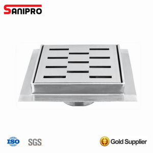 Bathroom and Kitchen Stainless Steel Floor Drain Grate pictures & photos
