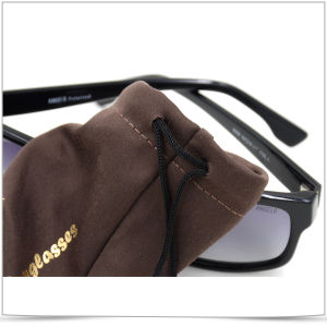 Soft Pouch Microfiber Sunglasses Case pictures & photos