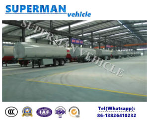 2 Axle 20FT Liters Fuel Tank Truck Trailer, Fuel Tanker for Sale pictures & photos