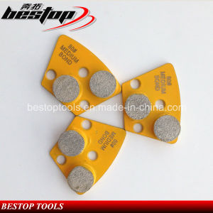 Grit 80# Diamond Segment Concrete Grinding Disc for Grinder pictures & photos
