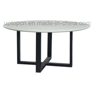 Outdoor Classical Round Table Hotel Desk Modern Furniture (SP-GT429) pictures & photos