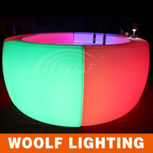 Modern Light up Glow Popular LED Nightclub Furniture