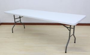 Modern Rectangular Plastic HDPE Folding Dining Meeting Banquet Table pictures & photos
