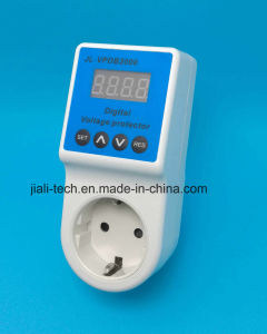Automatic Power Voltage Protector with LED Digital Display