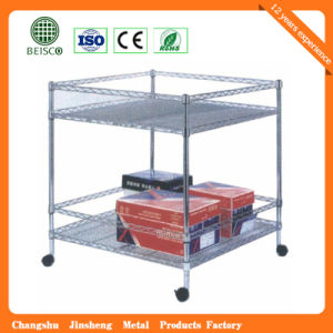High Quality Shoe Wire Shelving (JS-WS13) pictures & photos