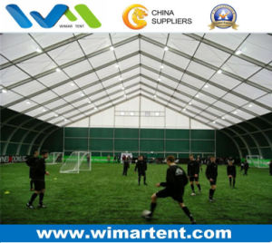 40m Large Curve Tent for Football Tennis and Basketball Sports
