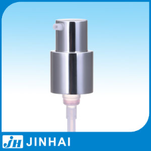 (D) 20/415 Aluminum Coating Cosmetic Cream Pump for Skin Care Product pictures & photos