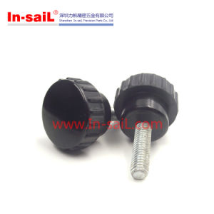 M8 20mm Male Thread Knurled Grip Knobs in China Shenzhen pictures & photos