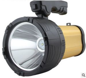 Strong LED Flashlight, 50 W Xenon Portable Rechargeable Flashlight Promotion