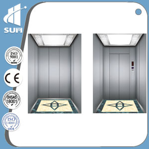 Passenger Lift with Luxury Decoration Cabin and Speed 1.5m/S pictures & photos