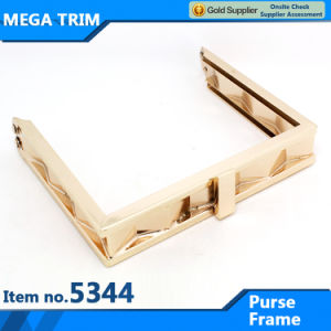 Fashion High Quality Gold Metal Woman Bag Purse Frame pictures & photos