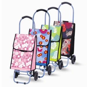 Promotional 600d Polyester Folding Luggage Trolley (SP-513) pictures & photos