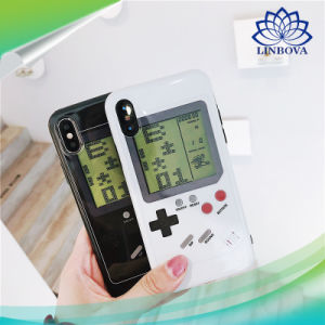 buy online 42be6 cd028 2 in 1 Retro Game Boy Tetris Phone Case Cover for iPhone X 6 6s 7 8 Plus