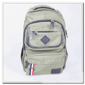 2e464b3be128 China Fashion Leisurely Canvas Backpack Schoolbag - China Schoolbag ...