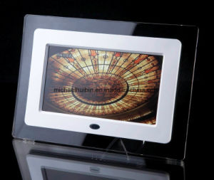7inch TFT LCD Screen Acrylic Advertisement Digital Picture Frame (HB-DPF702A)
