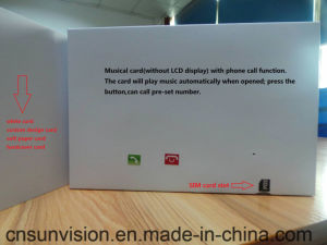 China phone calling video brochure music greeting card china 43 phone calling video brochure music greeting card m4hsunfo