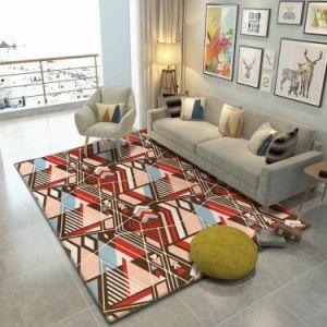 Hot Sale Durable Eco Friendly Decorative Printing Living Room Carpet, Table  Carpet, Chair Carpet, Bedroom Carpet