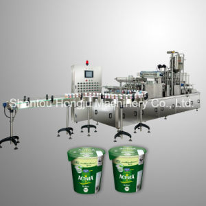 Yogurt Filling Machine for Plastic Cups with Sealing