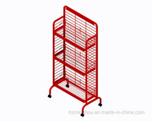 Metal Wire Supermarket Retail Adjustable Snack Candy Display Stand Rack