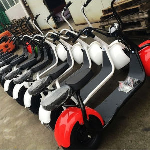 Hot Sale Motorcycle, Fat Tire Electric 800W Citycoco Scooter pictures & photos