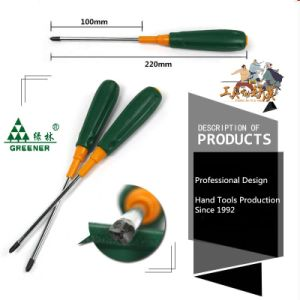 Greener Tri-Lobe Handle Screwdriver