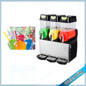 Good Model 3 Bowls Slush Machine Stainless Steel pictures & photos
