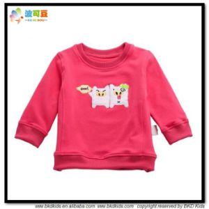 Red Color Baby Garment Winter Style Baby Shirts pictures & photos