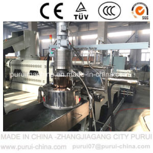 Two-Stage Die Face Cutting Plastic Pelletizing Machine pictures & photos