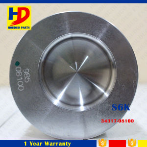 Engine Piston S6kt (34317-08100) for Caterpillar Excavator Parts pictures & photos