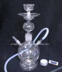 Simple Transparent Glass Smoking Hookah Pipe