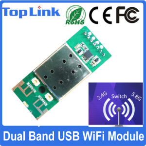 Rt5572 Dual Band 2.4G/5g 802.11A/B/G/N WiFi Standard Embedded USB 2.0 Wireless Module with Ce FCC