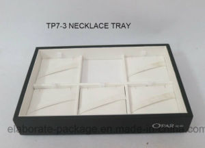 Black Stackable Jewelry Display Tray Showcase Store Stand pictures & photos