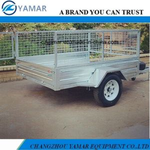 Single Axle Tipping Cage Trailer pictures & photos