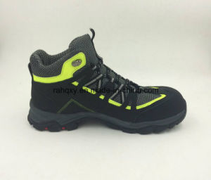 Split Nubuck Leather Safety Shoes New Designed Casual Style (16052) pictures & photos
