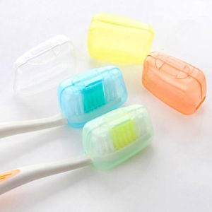Toothbrush Head Cover Case Cap Protector Travel Trip Home Outdoor Cleaner pictures & photos